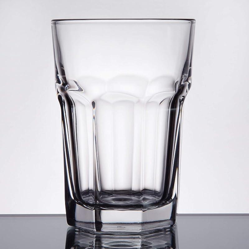 Libbey 15238 Gibraltar DuraTuff 12 Oz Beverage Glass SET OF 6 W FDL Party Picks