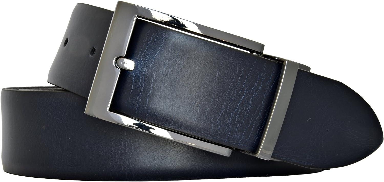 LLoyd Herren Leder Gürtel Wendegürtel bombiert schwarz - blau kürzbar 35mm Ledergürtel B01ETNAZ26  Am praktischsten