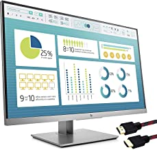 HP EliteDisplay E273 27 inch 4-Way adjustabile Monitor (1FH50A8#ABA) - (1920 x 1080) Full HD - (1x DisplayPort 1.2, 1x HDM...