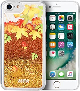Autumn Leaves Cascading Liquid Glitter Waterfall Case for iPhone 8 Plus & iPhone 7 Plus