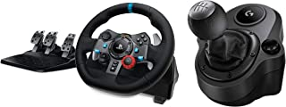 Logitech G29 Driving Force Racing Wheel and G Driving Force shifter Joystick