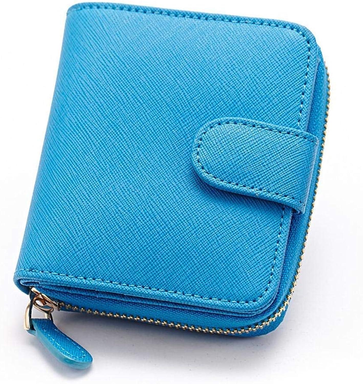Girls Purse Women's Wallet Lady's Wallet Coin Purse (color   D)