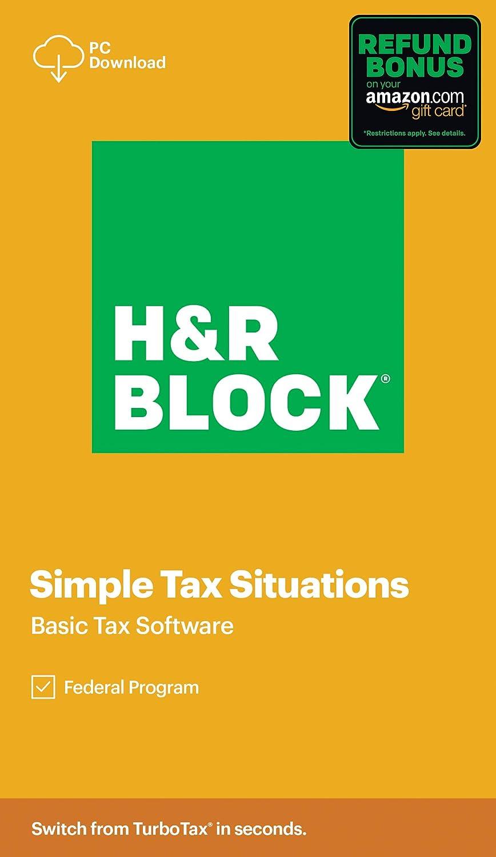 H&R Block Basic Tax Software Discount Coupon Code