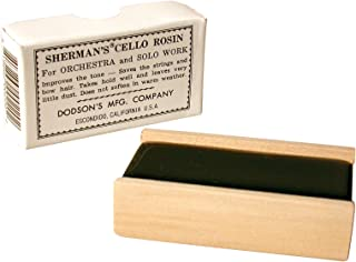 Sherman's VP-01C Bow Rosin - Cello - Dark