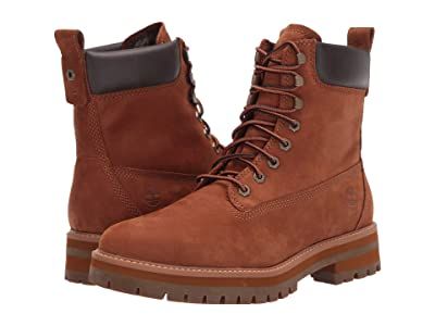 Timberland Courma Guy Waterproof Boot (Rust Nubuck) Men