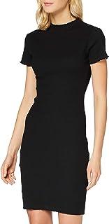Urban Classics kvinnor Ladies Rib Tee Dress Klänning