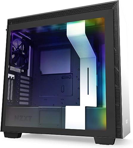 NZXT PC Game Case White/Black H710i