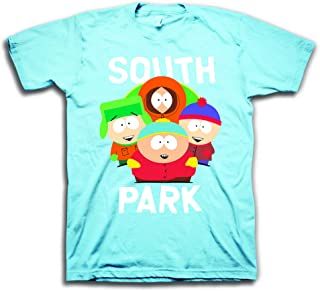 Mens Logo Shirt - Cartman, Kenny, Kyle & Stan Tee - Classic T-Shirt