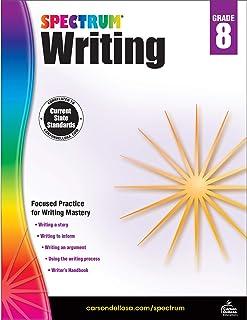 Spectrum | Writing Workbook | 8th Grade, 144pgs