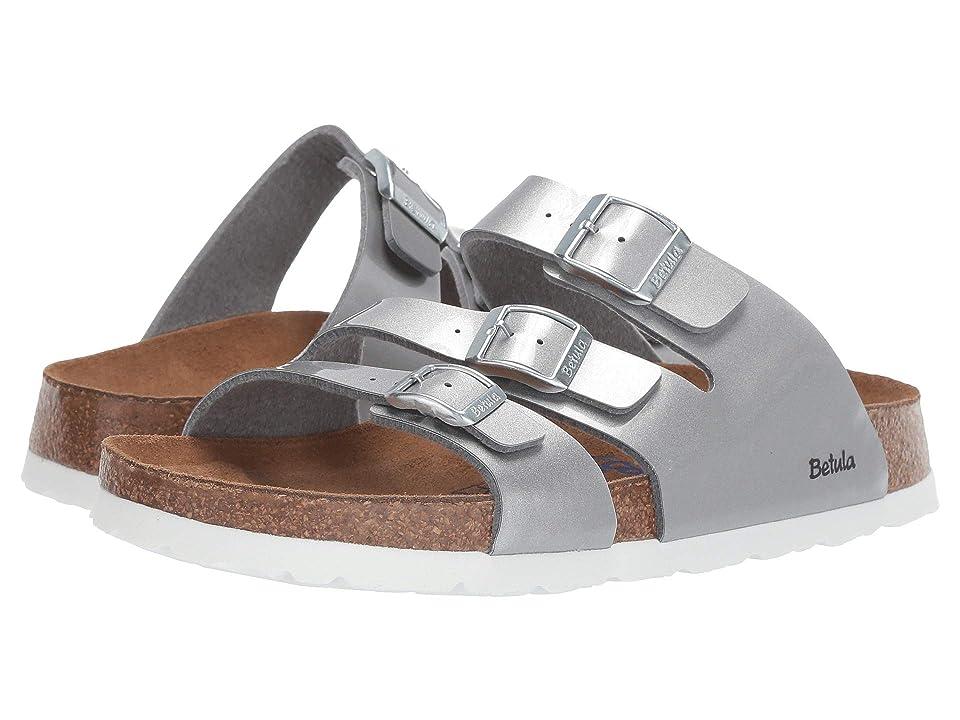 Betula Licensed by Birkenstock Leo Soft (Metal Silver Birko-Flortm) Women