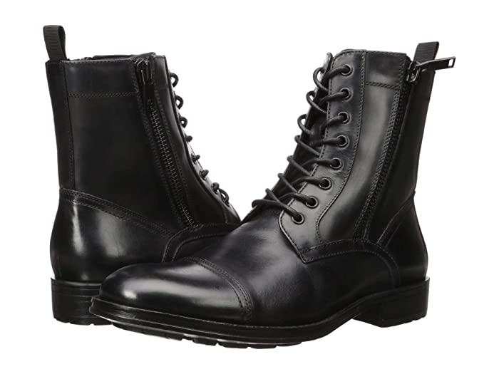 Kenneth Cole New York  Hugh Boot (Black) Mens Dress Boots