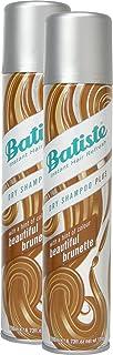 Batiste seco Champú Dry Beautiful Brunette con un toque de color para todos los tipos de cabello para pelo cabello brünettes, fresca, 2unidades (2x 200ml)