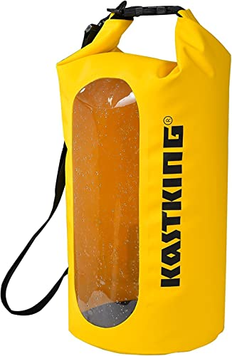 KastKing Dry Bags, 100% Waterproof Storage Bags, Military Grade Construction for Swimming, Kayaking, Boating, Hiking,...