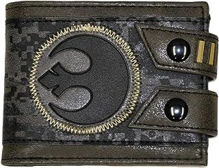 Star Wars Rebel Men's Wallet, black, One size fits most
