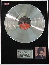 Tracy Chapman - Disco de platino LP - 'Tracy Chapman'