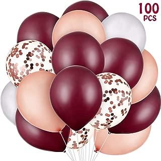 red rose balloon
