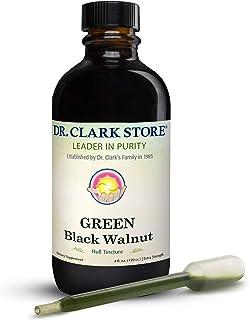 Original Green Black Walnut Hull Tincture (Extra Strength) by Dr. Hulda Clark, 4 oz
