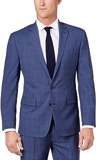Ryan Seacrest Mens Jacquard Two Button Blazer Jacket