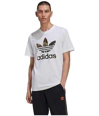 adidas Originals Camo Trefoil Tee (White) Men
