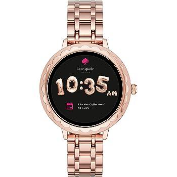 【ケイトスペード スマートウォッチ 】安心ギフトレシート Kate Spade New York Rose Gold Scallop Touchscreen Smartwatch KST2005 / ケイトスペイド タッチスクリーン スマートウォッチ [並行輸入品]