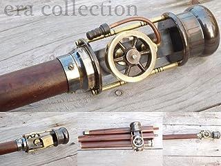 bastón Steampunk de madera
