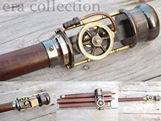 steam engine walking stick
