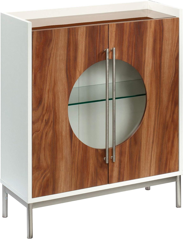 Sauder Vista Max 78% OFF 4 years warranty Key Accent Storage Cabinet x L: W: 11.81