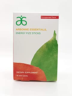 Arbonne Essentials Energy Fizz Sticks - Pomegranate
