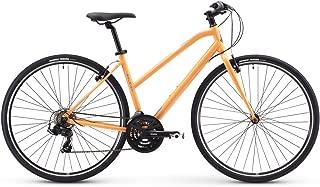Raleigh Bikes Alysa 1 Women's Fitness Hybrid Bike, Orange