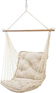 Hatteras Hammocks Sunbrella Tufted Single Swing - Integrated Pewter