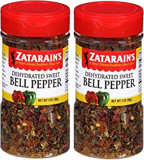 Zatarain's Dehydrated Sweet Bell Peppers, 3 Ounces (Pack of 2)