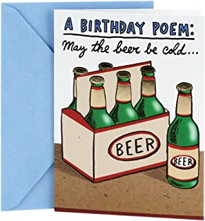 Hallmark Shoebox Funny Birthday Card (Cold Beers)