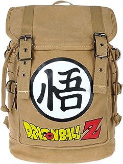 Dragon B. Z - Mochila de lona con cordón y solapa