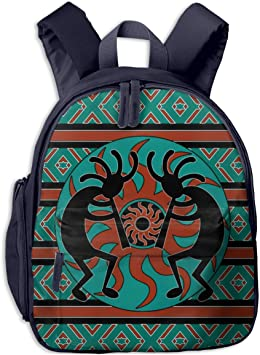 Teal Woven Backpack Made By Refugees