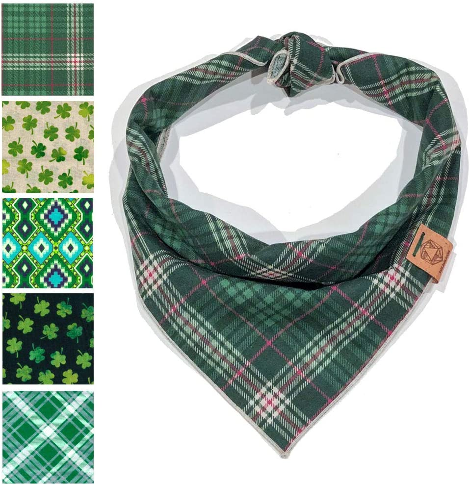 Bark.Bark.Goose. Plaid Designer Dog Bandanas in Sizes L Max 45% Limited Special Price OFF S M a