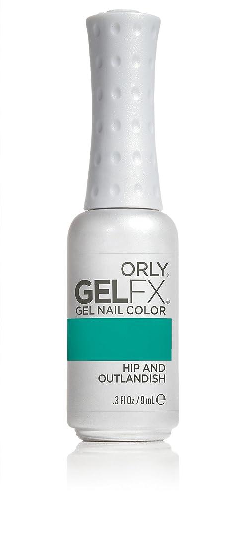 保険なかなか天皇Orly GelFX Gel Polish - Hip and Outlandish - 0.3oz/9ml