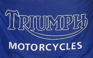 Triumph Moto Flag 3' X 5' Motorcycle Indoor Outdoor Banner
