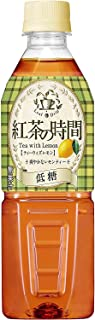 [訳あり(賞味期限2020年4月8日)]UCC 紅茶の時間 ティーウィズレモン 低糖 ペットボトル 500ml ×24本