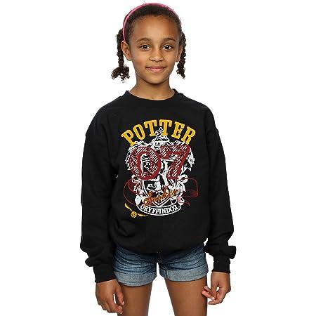HARRY POTTER niñas Gryffindor Seeker Camisa De Entrenamiento 12-13 Years Negro