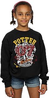 HARRY POTTER niñas Gryffindor Seeker Camisa De Entrenamiento 9-11 Years Negro