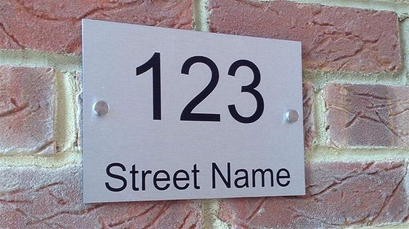 不適切な社会学サイズZ-Y 家屋番号 ドア番号プラーク つや消しアルミニウム複合ハウスナンバードア?サインハウスプラークドア数やストリート名エクステリアハウス番号を登録 #z