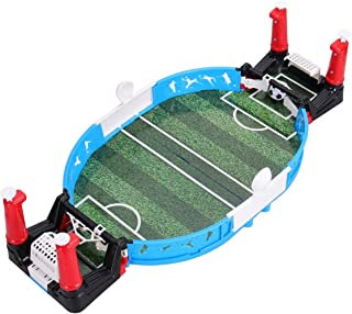Toyvian Mini Table Football Games Portable Finger Sports Football for Children and Adults Football Games Parent-Child Inte...