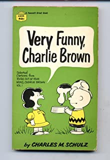 Very Funny Charlie Brown Charles M Schulz Fawcett Crest 1967