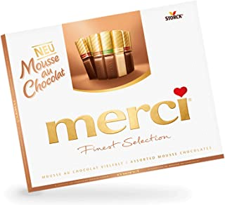 Merci Finest Selection Assorted Mousse Chocolates Candy Original German Chocolate 210g/7.40oz