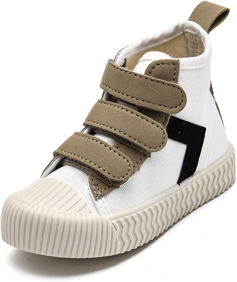 Folltoshe Toddler Boys Girls High Top Hook Loop Colorado Springs Mall Sneaker Ranking TOP9 and Litt