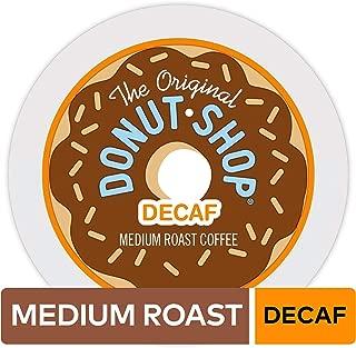 The Original Donut Shop Keurig Single-Serve K-Cup Pods, Medium Roast Coffee, DECAF, 12 Count (Pack of 6)
