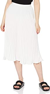 French Connection Crepe Light Pleated Midi Skirt Falda para Mujer