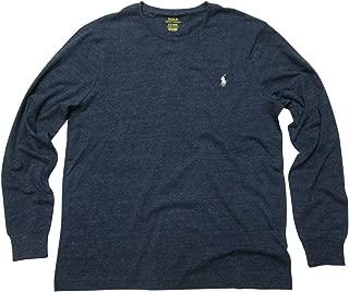 Mens Long Sleeve Crew Neck Custom Slim Fit T-Shirt