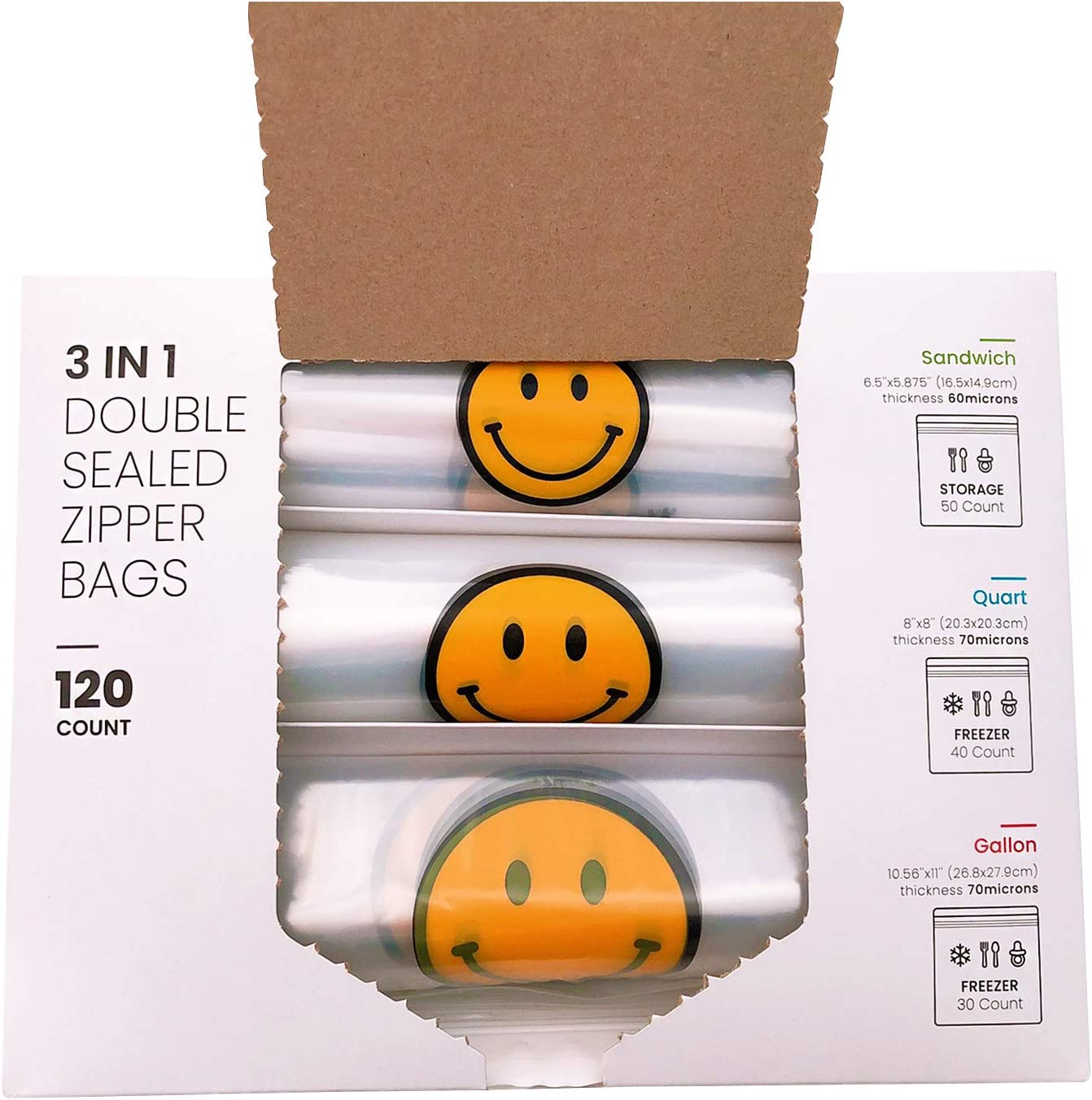 3 in 1 Bulk Double Cheap Animer and price revision Sealed Designs Zipper with Reusable Tota Bags