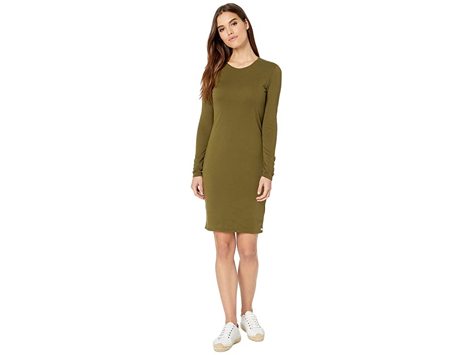 Hurley Dri-FIT Long Sleeve Dress (Olive Canvas) Women